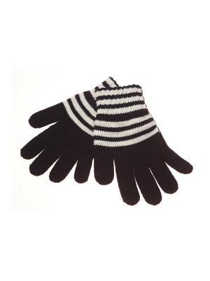 Перчатки FOMAS. Цвет: черный, кремовый