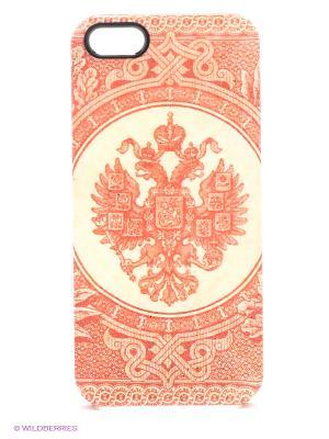 Чехол для iPhone 5/5s Empire Kawaii Factory. Цвет: красный, светло-желтый