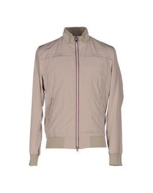 Куртка MABRUN. Цвет: бежевый