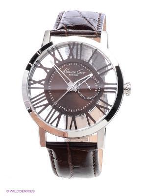 Часы Kenneth Cole. Цвет: коричневый