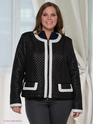 Куртка RIO VERTI. Цвет: черный, белый