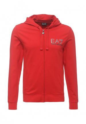 Толстовка EA7. Цвет: красный