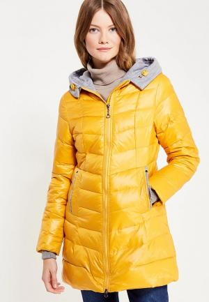 Куртка утепленная Vitario. Цвет: желтый