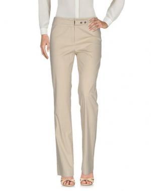 Повседневные брюки LAURÈL. Цвет: бежевый