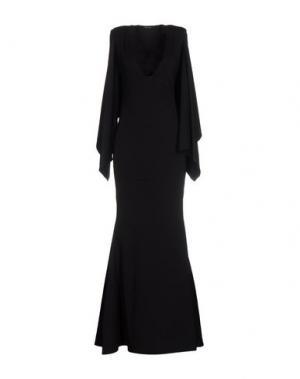 Длинное платье ODI ET AMO. Цвет: черный
