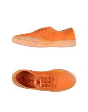 Низкие кеды и кроссовки 3:10. Цвет: оранжевый