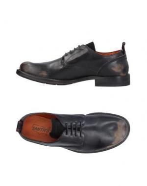 Обувь на шнурках SMITH'S AMERICAN. Цвет: черный