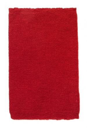 Снуд из шерсти 153304 Norsoyan. Цвет: красный