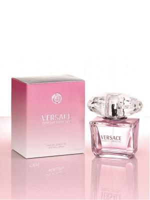 Туалетная вода Versace Bright Crystal, 50 мл. Цвет: розовый