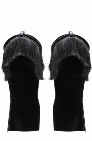 Аксессуар для обуви Aleksandersiradekian. Цвет: черный