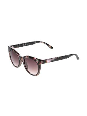 Очки солнцезащитные Happy Charms Family. Цвет: черный, коричневый, розовый