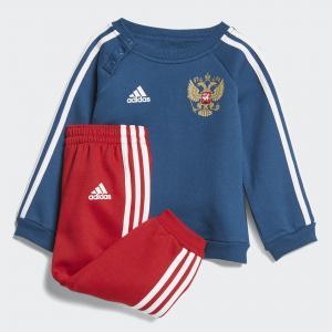 Спортивный костюм Россия 3-Stripes  Performance adidas. Цвет: красный