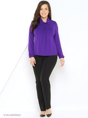 Блузка VENUSITA. Цвет: фиолетовый