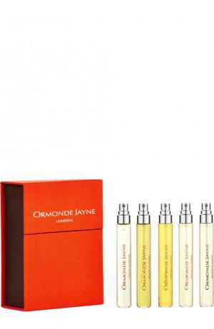 Дорожный парфюмерный набор: Ormonde Man, Isfarkand, Zizan, Montabaco, Nawab of Oudh Jayne. Цвет: бесцветный