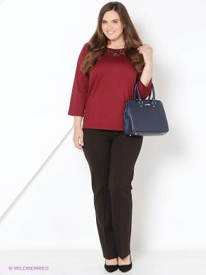 Блуза BALSAKO. Цвет: бордовый