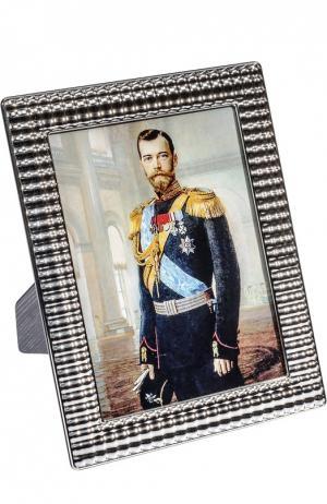 Рамка для фото Kirill Tsar. Цвет: серебряный