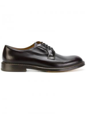 Классические туфли Дерби Doucals Doucal's. Цвет: коричневый
