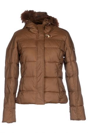 Jacket YES ZEE BY ESSENZA. Цвет: brown