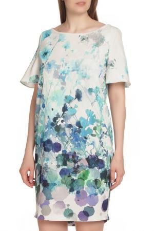 Повседневное платье с ярким рисунком D.Exterior. Цвет: принт