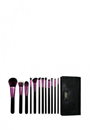Набор кистей для макияжа Royal&Langnickel. Цвет: черный