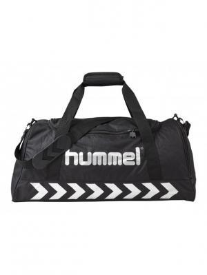 Сумка AUTHENTIC SPORTS BAG HUMMEL. Цвет: черный, серебристый