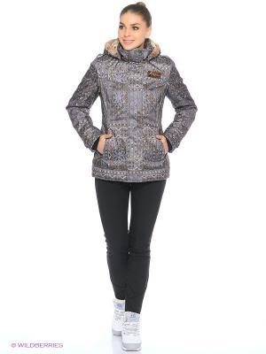 Куртка Stayer. Цвет: бежевый, белый, коричневый, рыжий, фиолетовый