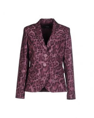 Пиджак DANIELA DREI. Цвет: баклажанный
