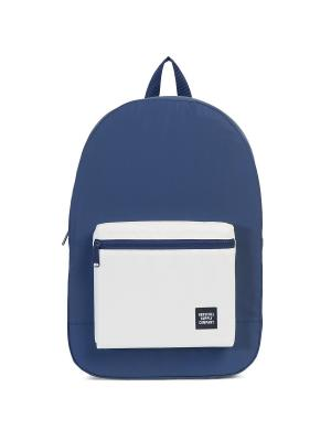 Рюкзак PACKABLE DAYPACK (A/S) Herschel. Цвет: синий, белый