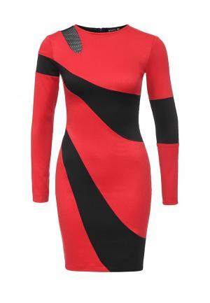 Платье Gloss. Цвет: разноцветный