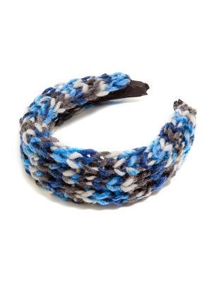 Ободок Kameo-bis. Цвет: синий, серый, белый