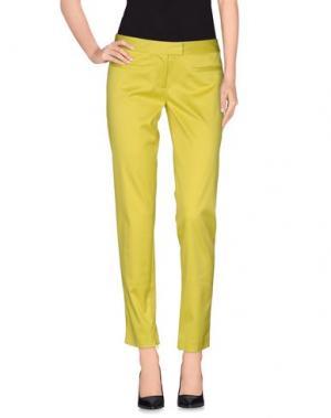 Повседневные брюки INTROPIA. Цвет: кислотно-зеленый
