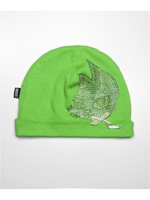 Шапка SHUMI DESIGN. Цвет: зеленый