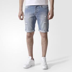 Джинсовые шорты XTRA LGHT DNM  Originals adidas. Цвет: серый