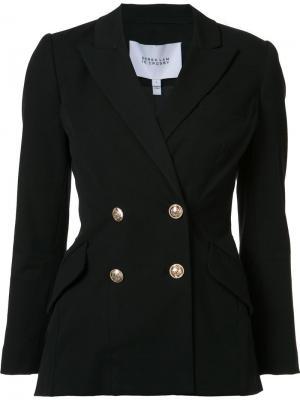 Двубортная куртка Derek Lam 10 Crosby. Цвет: чёрный