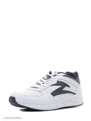Кроссовки Sigma. Цвет: белый, черный