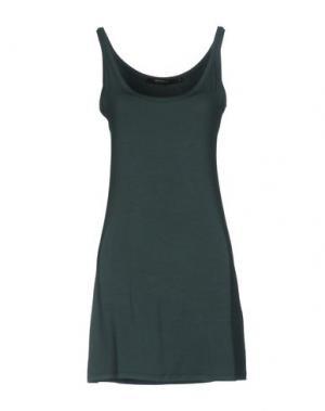 Короткое платье LA FEE MARABOUTEE. Цвет: зеленый
