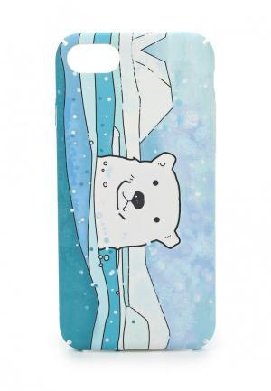 Чехол для телефона Kawaii Factory. Цвет: голубой