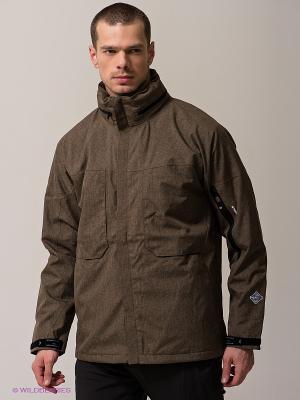 Куртка STORMTECH. Цвет: коричневый