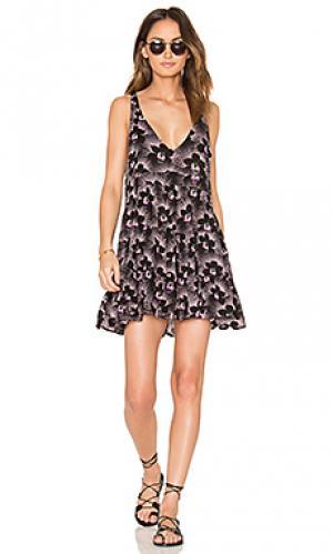 Мини платье havana Acacia Swimwear. Цвет: фиолетовый