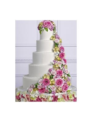 Идеальная свадьба, или как устроить праздник своей мечты Эксмо. Цвет: сиреневый, бледно-розовый, светло-серый
