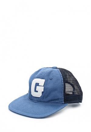 Бейсболка Gap. Цвет: голубой