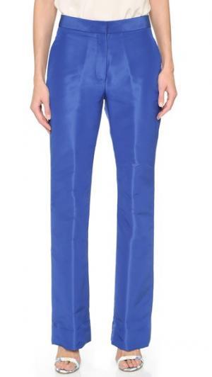 Прямые брюки Monique Lhuillier. Цвет: кобальт