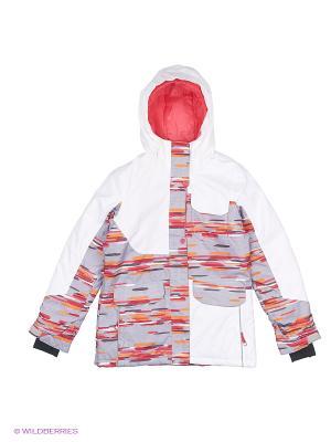 Куртка Jupa. Цвет: белый