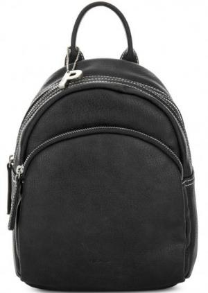 Черный рюкзак на молнии Picard. Цвет: черный