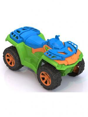Квадроцикл Тайга Нордпласт.. Цвет: зеленый