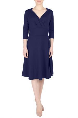 Платье FEVER LONDON. Цвет: navy