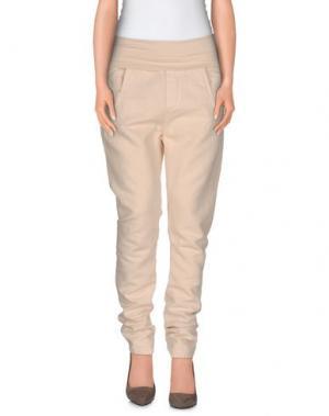 Повседневные брюки MANILA GRACE. Цвет: бежевый