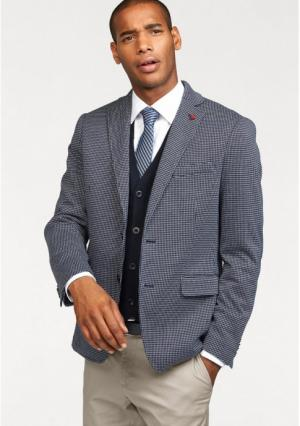 Пиджак Class International. Цвет: темно-синий с рисунком