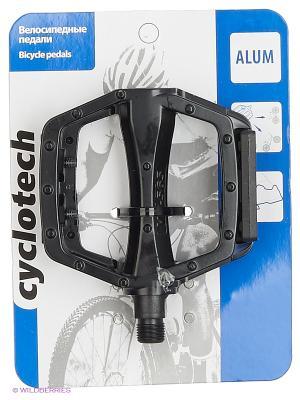 Педаль велосипедная (2шт) Cyclotech. Цвет: черный