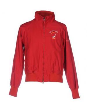 Куртка LEVIATHAN. Цвет: красный